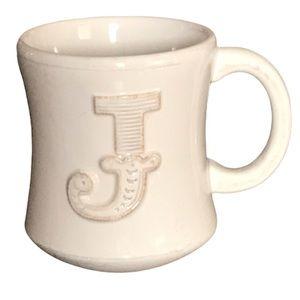 Hallmark Stephen Carter J Monogram Coffee/Tea Mug